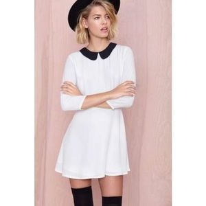 Nasty Gal Wendy Peter Pan Collar Dress